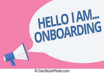 concept, tekst, scheeps , boodschap, uit, luidspreker, schrijvende , onboarding., toespraak, u, megafoon, bel, het spreken, loud., zakelijk, am..., belangrijk, het vertellen, woord, of, persoon, schaaf, hallo