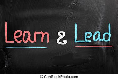 concept, temps, apprendre