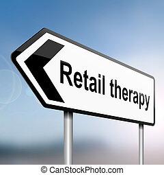 concept., terapia varejo