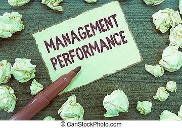 concept, terugkoppeling, vaardigheden, tekst, leidingevend, betekenis, management, performance., handschrift, competencies