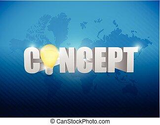 concept text sign illustration design