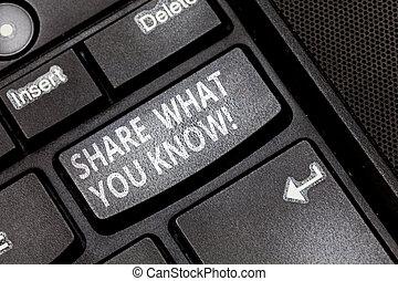 concept, toetsenpaneel, tekst, aandeel, dringend, toetsenbord, know., boodschap, jouw, wat, kennis, scheppen, intention, u, communiceren, betekenis, ervaringen, klee, anderen, idea., computer, handschrift