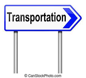 concept., transport