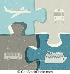 concept, transport