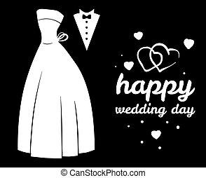 concept, trouwfeest