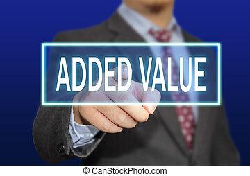 concept, valeur, ajouté