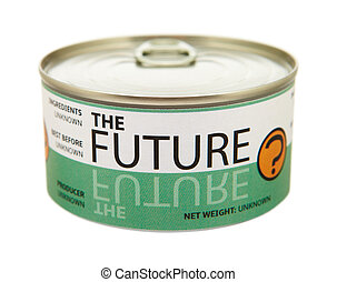 concept, van, future., tin, can.