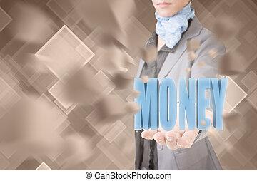 concept, van, geld
