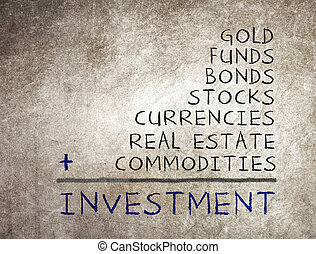 concept, van, investering