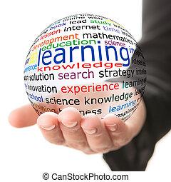 concept, van, leren