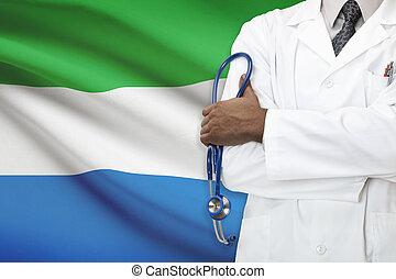concept, van, nationale, gezondheidszorg, systeem, -, sierra...