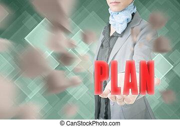 concept, van, plan