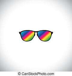 concept vector of traveler or tourist wearing colorful...