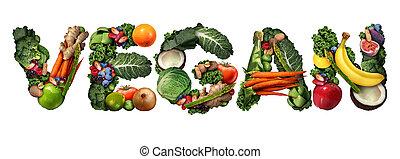 concept, vegan