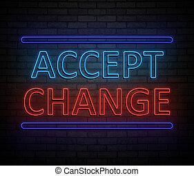 concept., veranderen, aanvaarden