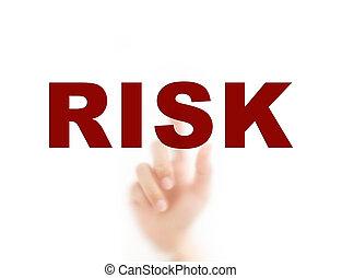 concept, verantwoordelijkheid, wijzende, verantwoordelijkheid, management, vinger