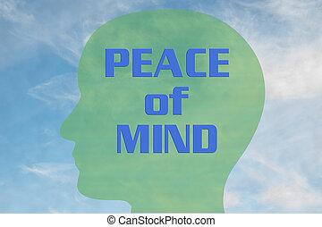 concept, verstand, vrede