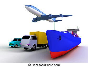 concept, vervoeren