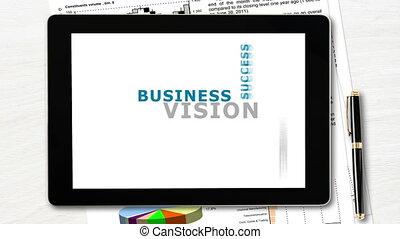 concept, vision, business