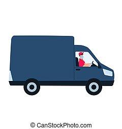 concept., vogn., mand, covid-19., coronavirus, ophold, pengeskab, during, karantæne, fødsel, hjem