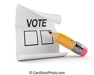 concept, vote
