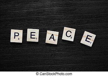 concept, vrede