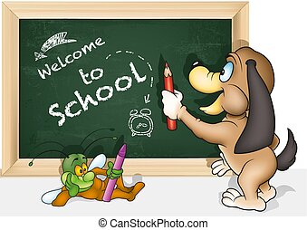 Concept Welcome to School
