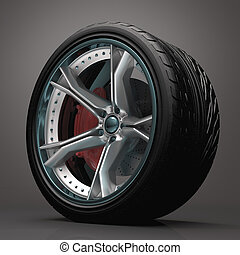 Concept Wheel - Concept wheel created and designed without...