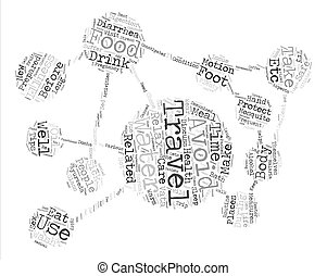 concept, woord, tekst, globe, gezondheid, achtergrond,...
