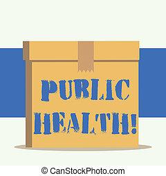 concept, woord, zakelijk, regering, tekst, gemeenschap, schrijvende , bescherming, verbetering, publiek, health.