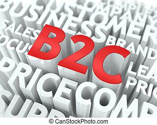 concept., wordcloud, b2c.