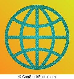 concept, world., numérique