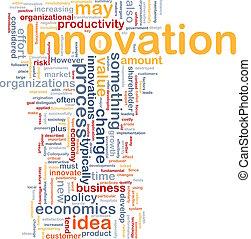 concept, zakelijk, achtergrond, innovatie