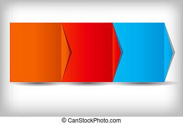 concept, zakelijk, proces, illustratie, chart., vector,...