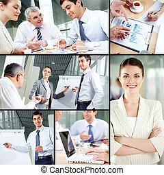 concept, zakenlui