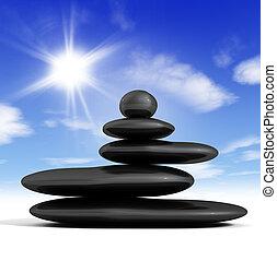 concept, zen