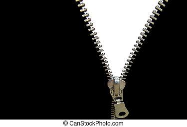 concept, zipper