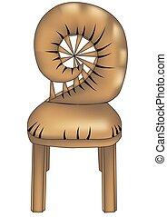 concepteur, chair4