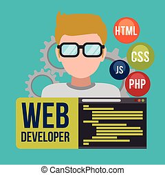 concepteur web, design.