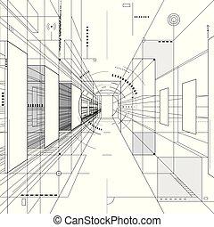 conception abstraite, architecture