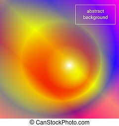 conception abstraite, fond, coloré, ton