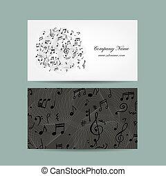 conception, affaires musique, carte