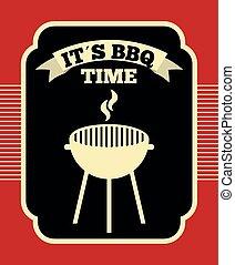 conception, barbecue