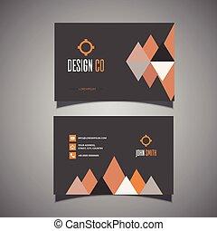 conception, carte affaires