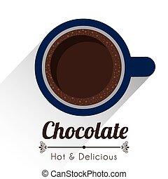 conception, chocolat
