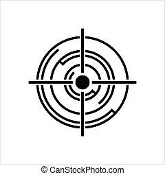 conception, cible, icône