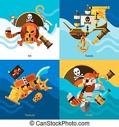 conception, concept, ensemble, pirates, 2x2