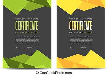 conception couleur, certificat