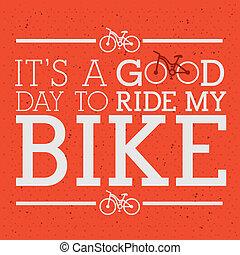 conception, cyclisme