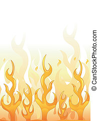 conception, flammes